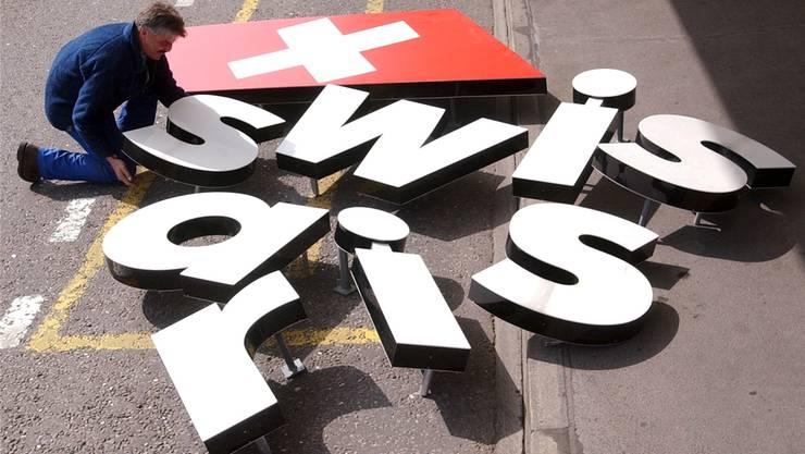 Netzwerke konnten die Swissair nicht retten. Bild: Key
