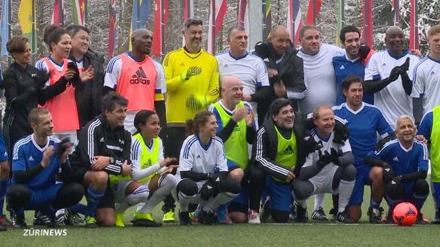 FIFA-Legenden in Zürich