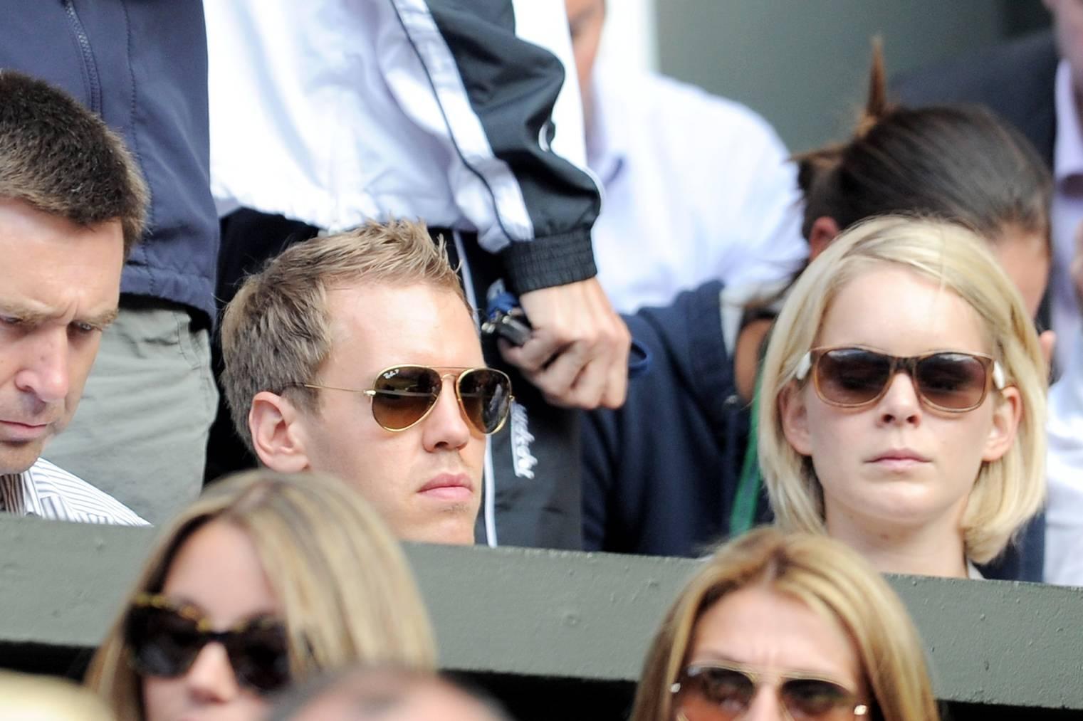 Sebastian Vettel und Hanna Spranger im Jahr 2011. (Bild: gettyimages)