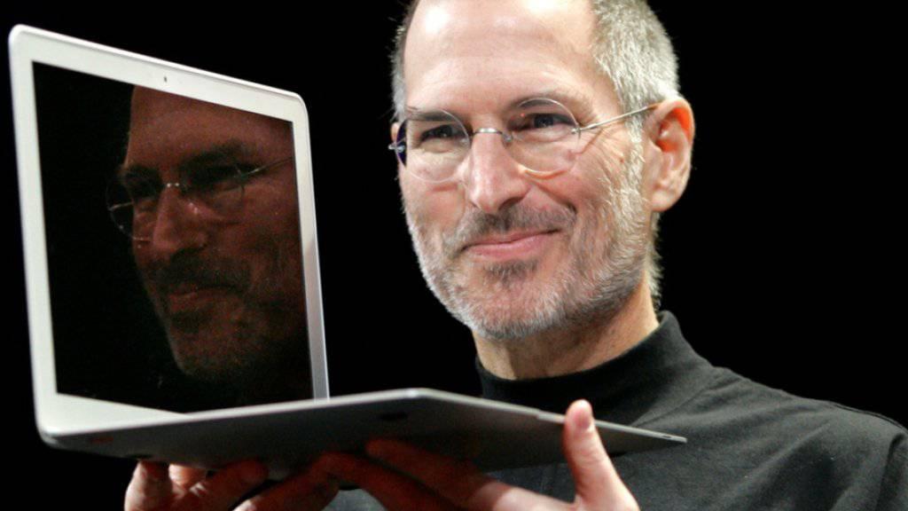 """Der verstorbene Apple-Chef Steve Jobs soll in Paris keine Strasse bekommen: Sein Name stehe in Verbindung mit Überstundenzwang und """"illegaler Steuergestaltung"""". (Archivbild)"""