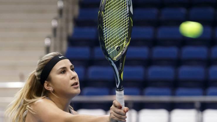 Belinda Bencic eilt auch beim ITF-Turnier in Dubai von Sieg zu Sieg