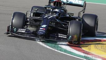 Valtteri Bottas steht in Imola zum vierten Mal in der laufenden Saison auf dem besten Startplatz