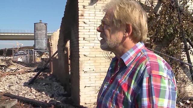 «Man muss das einfach irgendwie verkraften»: Mieter Jakob Büchli lagerte auf dem Areal Hilfsgüter und Gartenbaumaschinen – er hat alles verloren.