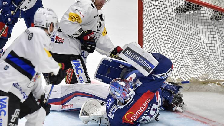 Die ZSC Lions kommen gegen Fribourg nicht wieder auf die Beine