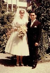 4. Juli 1959  Heidi & Italo Donato Busa Hochzeit