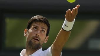 Novak Djokovic hat in Wimbledon seinen fünften Titel im Visier