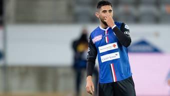 Petar Misic erwischt einen gebrauchten Abend gegen den FC Thun.