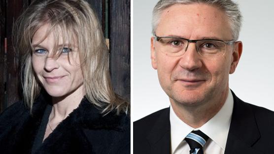 Die beiden SVP-Kandidaten Müller-Boder und Glarner erhielten vom Rhetorik-Experten die Noten 5-6.