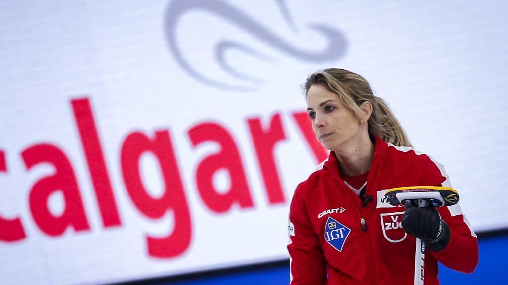 Silvana Tirinzoni und ihre Mitspielerinnen schreiben in Calgary mit einem Achterhaus Curling-Geschichte