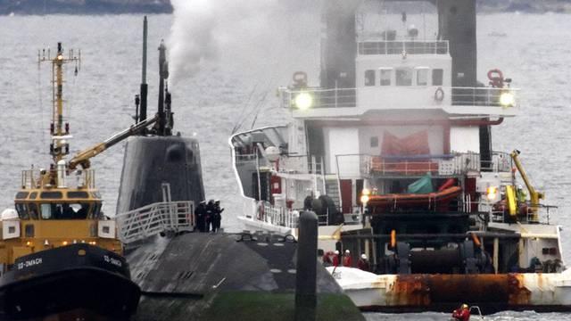Die HMS Astute wurde beim Freischleppen von der Küstenwache manövrierunfähig gemacht (Symbolbild)