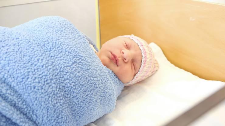 Aria Sélène ist das Aargauer Neujahrsbaby. Bild: Stefania Telesca