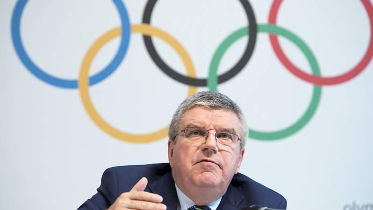 Das IOC (hier mit Präsident Thomas Bach) wird von Kuwait auf 1 Milliarde Dollar verklagt