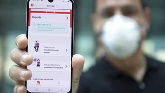 Contact-Tracing-App: Im Parlament gibt es Bedenken beim Datenschutz.