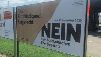 Die Energiegesetz-Gegner haben sich knapp durchgesetzt.