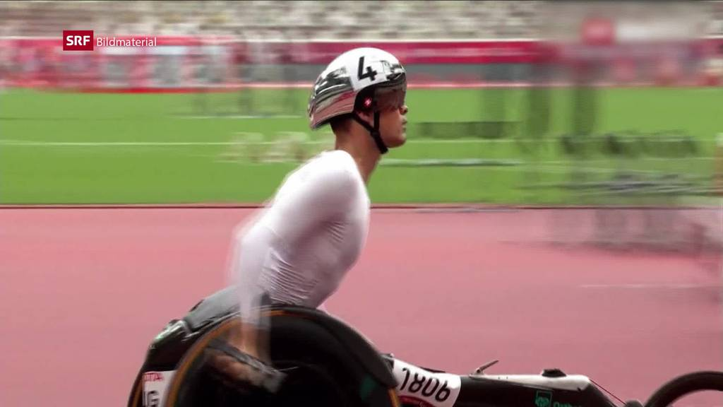 Doppelgold: Marcel Hug auch über 1500 Meter überlegen