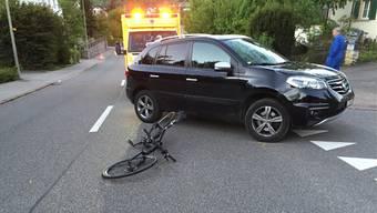 Der Unfall geschah beim Haldenweg in Sissach.
