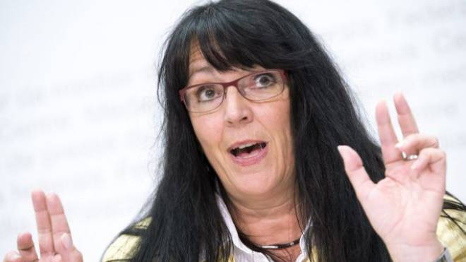 Initiantin Marianne Streiff, EVP. Foto: Key
