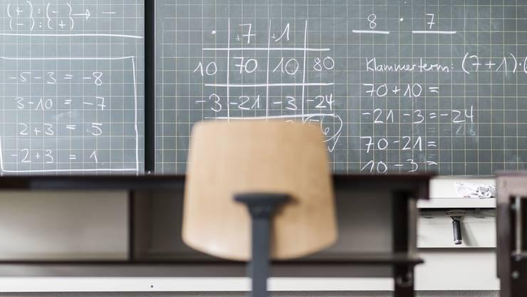 Mathe ist nicht die Stärke der Basler Sekundarschüler. Sie versagten beim ersten interkantonalen Bildungsvergleich.