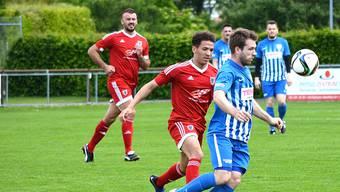 Miro Golob (r.) und der FC Olten holen im Abstiegskampf keine Punkte.