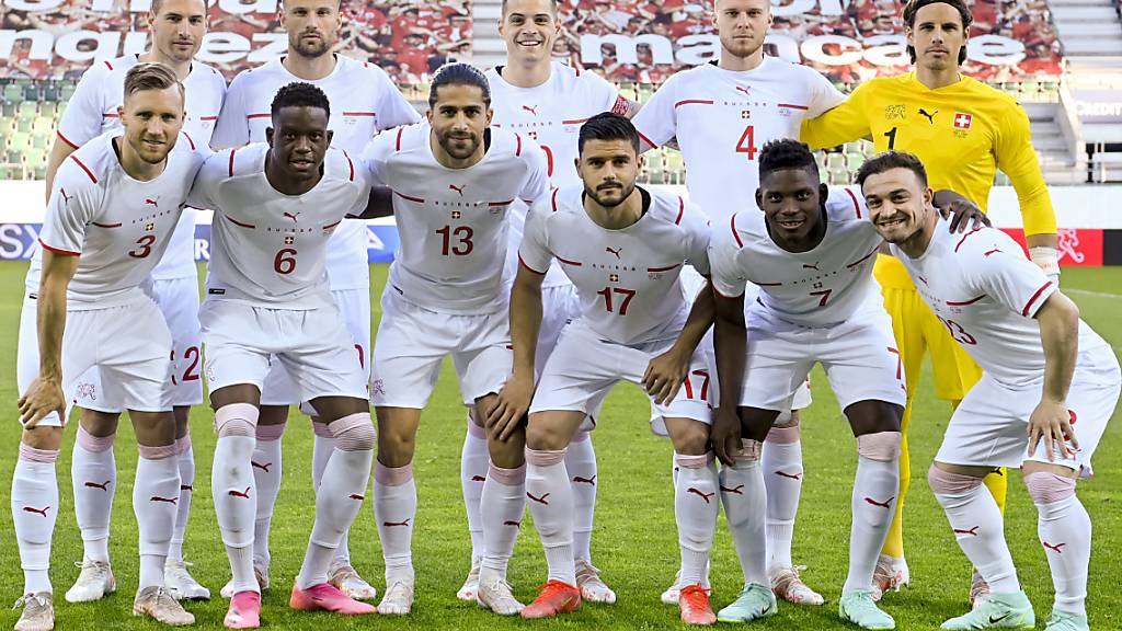 Los geht's: Auf die Schweiz wartet gegen Wales bereits ein Schlüsselspiel