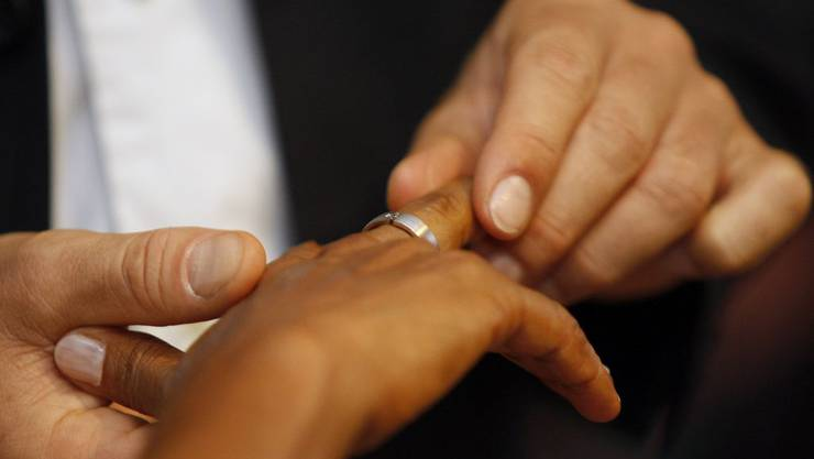 2013 liessen sich rund 100 Paare weniger als im Vorjahr trauen.