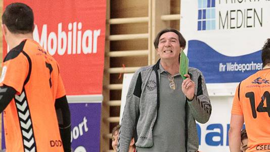 Zoltan Cordas lebt für den Handball – und das mit jeder Faser seines Körpers, gerade während der Spiele. Michi Mahrer
