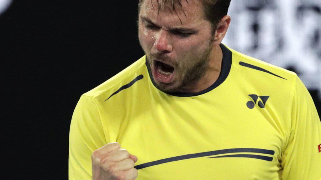 Starker Auftritt in Rotterdam: Stan Wawrinka steht beim ATP-Turnier in der 2. Runde