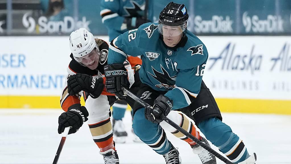 Patrick Marleau schloss mit seinem 1767. Spiel in der NHL-Qualifikation zum grossen Gordie Howe auf.