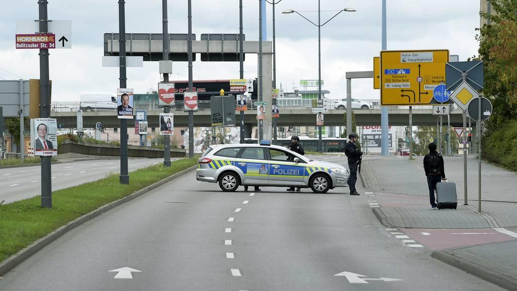 Der Hauptbahnhof wurde wegen des Einsatzes gesperrt. (© Keystone)