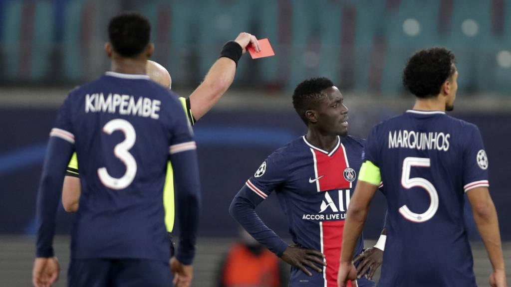 Niederlage und Frust bei Paris Saint-Germain