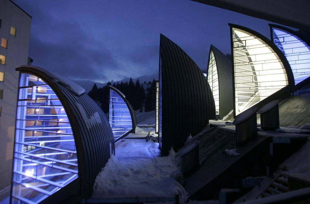 Das «Tschuggen Grand Hotel Arosa» (© Keystone)