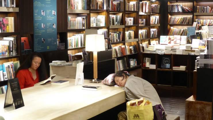 Besucher an der Frankfurter Buchmesse.