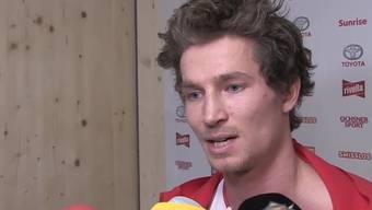 Iouri Podladtchikov im Interview.