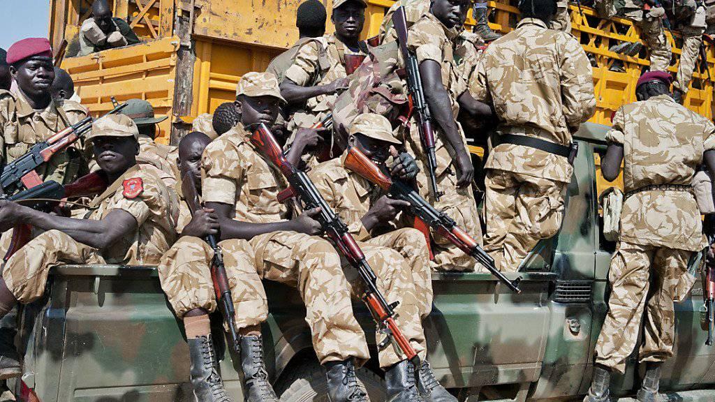 Die UNO wirft vor allem den Regierungstruppen vor, Vergewaltigungen als Kriegswaffe einzusetzen (Archiv).
