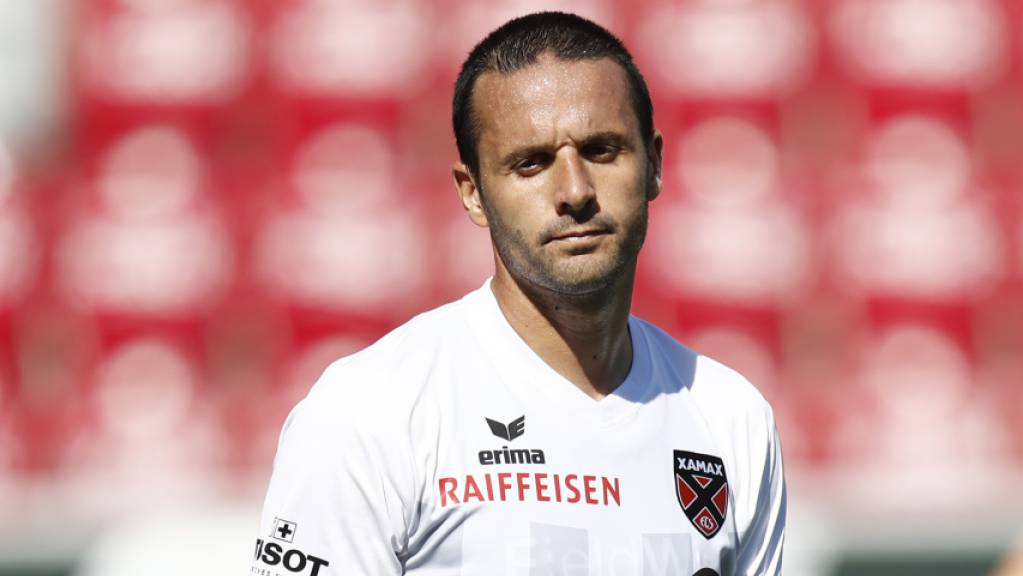 Raphaël Nuzzolo ärgert sich.