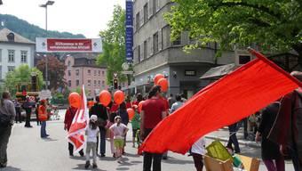 1. Mai in Baden