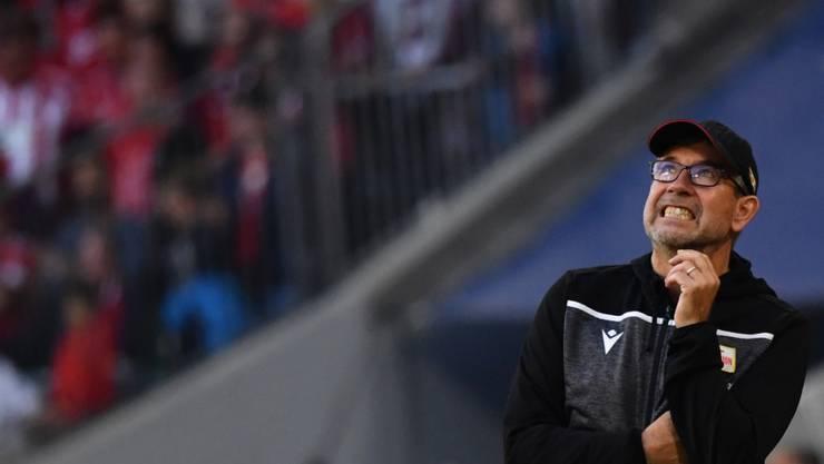 Union-Coach Urs Fischer spürt die hohe Bedeutung des ersten Berliner Bundesliga-Derbys seit 42 Jahren