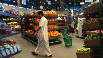 Trotz des Boykotts sind die Regale in den Supermärkten der katarischen Hauptstadt Doha voll.AFP/Getty Images
