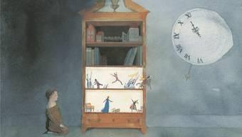 Seit 200 Jahre verzaubert die Geschichte des Nussknackers Gross und Klein. Illustration von Lisbeth Zwerger aus der Neuausgabe des «Nussknackers».