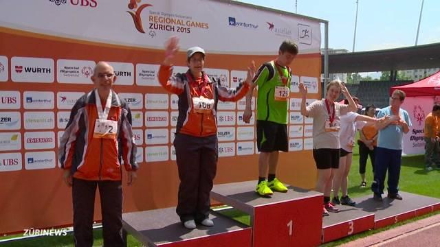 Special Olympics Games im Letzigrund