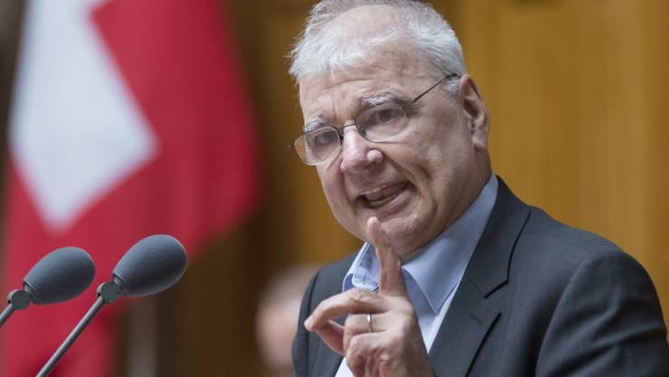 Der ehemalige Zürcher Nationalrat Daniel Vischer starb am Dienstag im Alter von 67 Jahren. (Archiv)