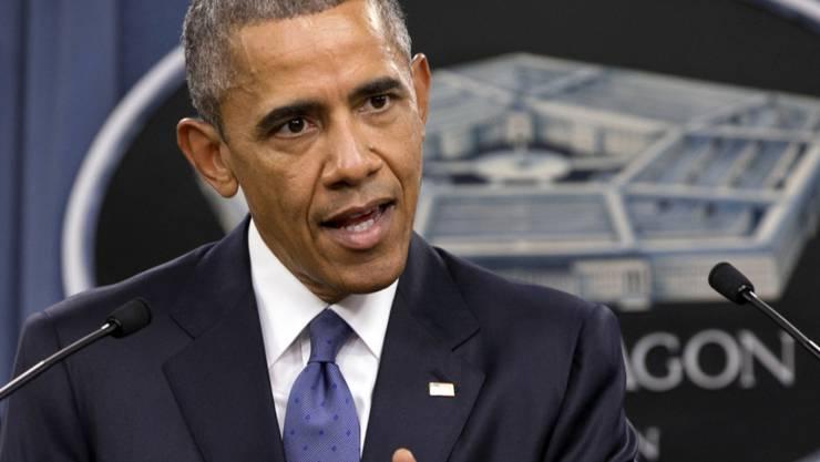 Mehr Luftschläge gegen den IS: US-Präsident Obama verstärkt den Kampf gegen die Terrormiliz
