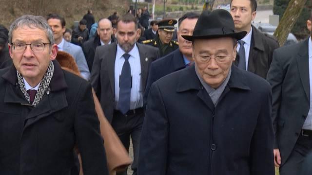 Besuch vom chinesischen Vizepräsident