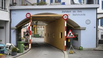 Die Zufahrt zu den Bädern beschäftigt den Quartierverein.