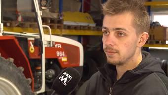 Am Mittwoch wurde Philipp Siegenthaler in seinem Traktor aufs Dach geschleudert. Dem Traktorfahrer steckt der Schock noch tief in den Knochen.