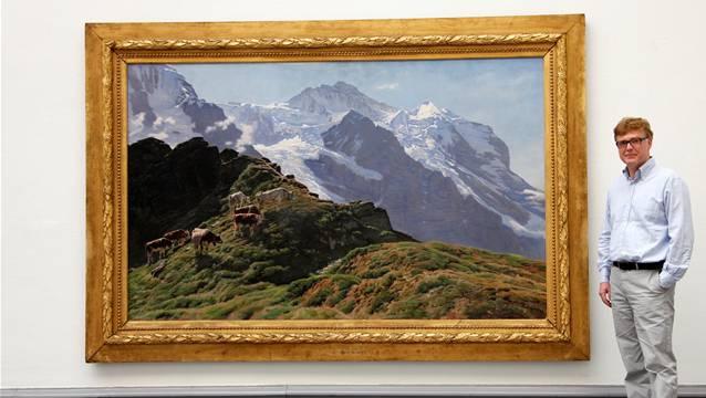 Konservator Christoph Vögelle freut sich über das klare Bekenntnis zum Kunstmuseum.(Hanspeter Bärtschi)