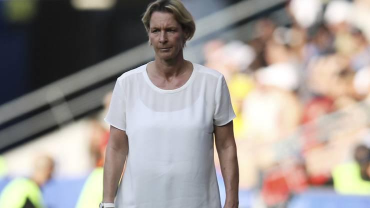 Martina Voss-Tecklenburg, bis vor einem Jahr noch Schweizer Nationaltrainerin, verpasste mit Olympiasieger Deutschland mit dem Viertelfinal-Out auch die erneute Olympiaqualifikation