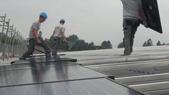 Im neuen Verfassungsartikel soll die Förderung erneuerbarer Energien verankert werden.