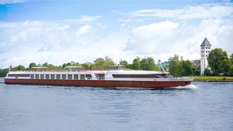 Die «Pearl» wird das kleinste Flussschiff der «Excellence»-Flotte sein.