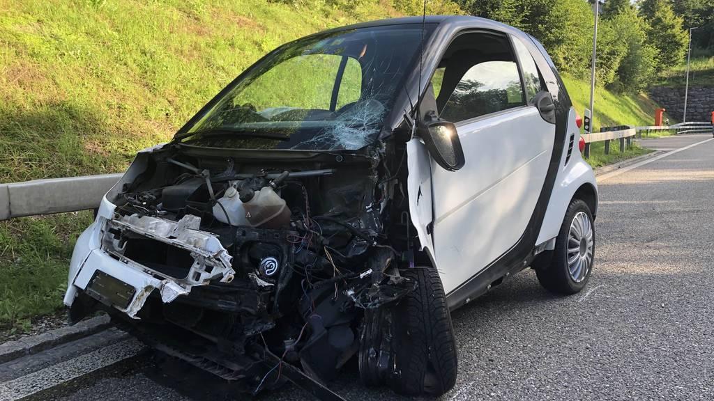 Spinne im Auto: 27-Jährige verliert Kontrolle und verursacht Crash